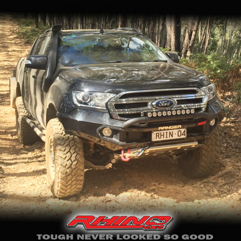 Rhino 4x4 Ford Everest 2016 Front Bumper Replacement