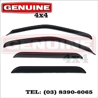 Genuine 4x4 Weathershields For Toyota Hilux LN 165 167 172 176, 12/97-03/2005 Window Sun Visors