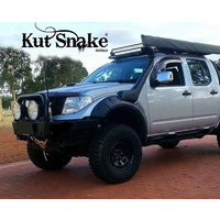 KUT SNAKE FLARES For Nissan Navara D40 All Years ABS Moulded 2pce