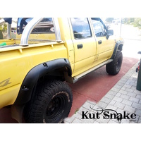 KUT SNAKE FLARES For Toyota Hilux 1997-2004 LN165 / 167 / 172 / 176 ABS Moulded Full Set