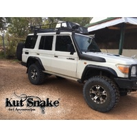 KUT SNAKE FLARES For Toyota Landcruiser 76 series All Years ABS Moulded Full Set