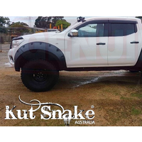 KUT SNAKE FLARES For Nissan Navara NP300 MONSTER ABS Moulded 2pce