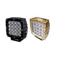RHINO 4X4 HD Series LED Driving Light CREE IP68 Rated 6063 Alloy Aluminium Housing A PAIR 3YR WARRANTY
