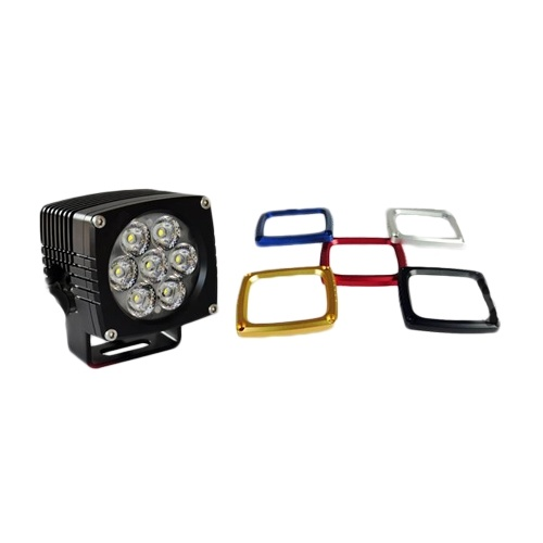 RHINO 4X4 HD Series 35W LED Work Light CREE IP68 Rated 6063 Alloy Aluminium Housing A PAIR 3YR WARRANTY