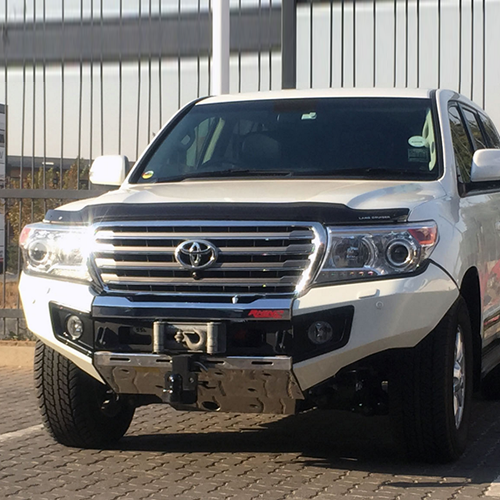 RHINO 4X4 Toyota Landcruiser 200 Series 2016+ Facelift Model Front Bumper Replacement Winch Bullbar ADR Compliant