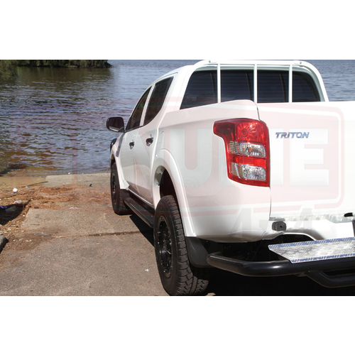 Rockarmor Rear Step Tow Bar for Mitsubishi Triton MQ (2015+)